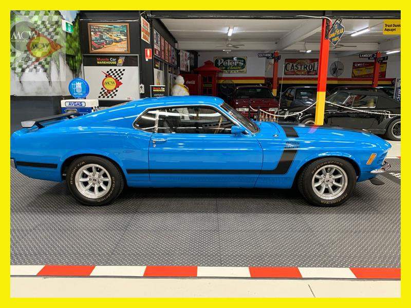 1970 Ford Mustang 4 Sp Manual 2 Dr Fastback - JCFD5173379 ...