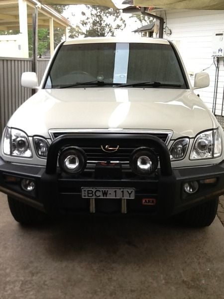 Lexus LX470 4x4s for sale in Australia - JUST 4X4S