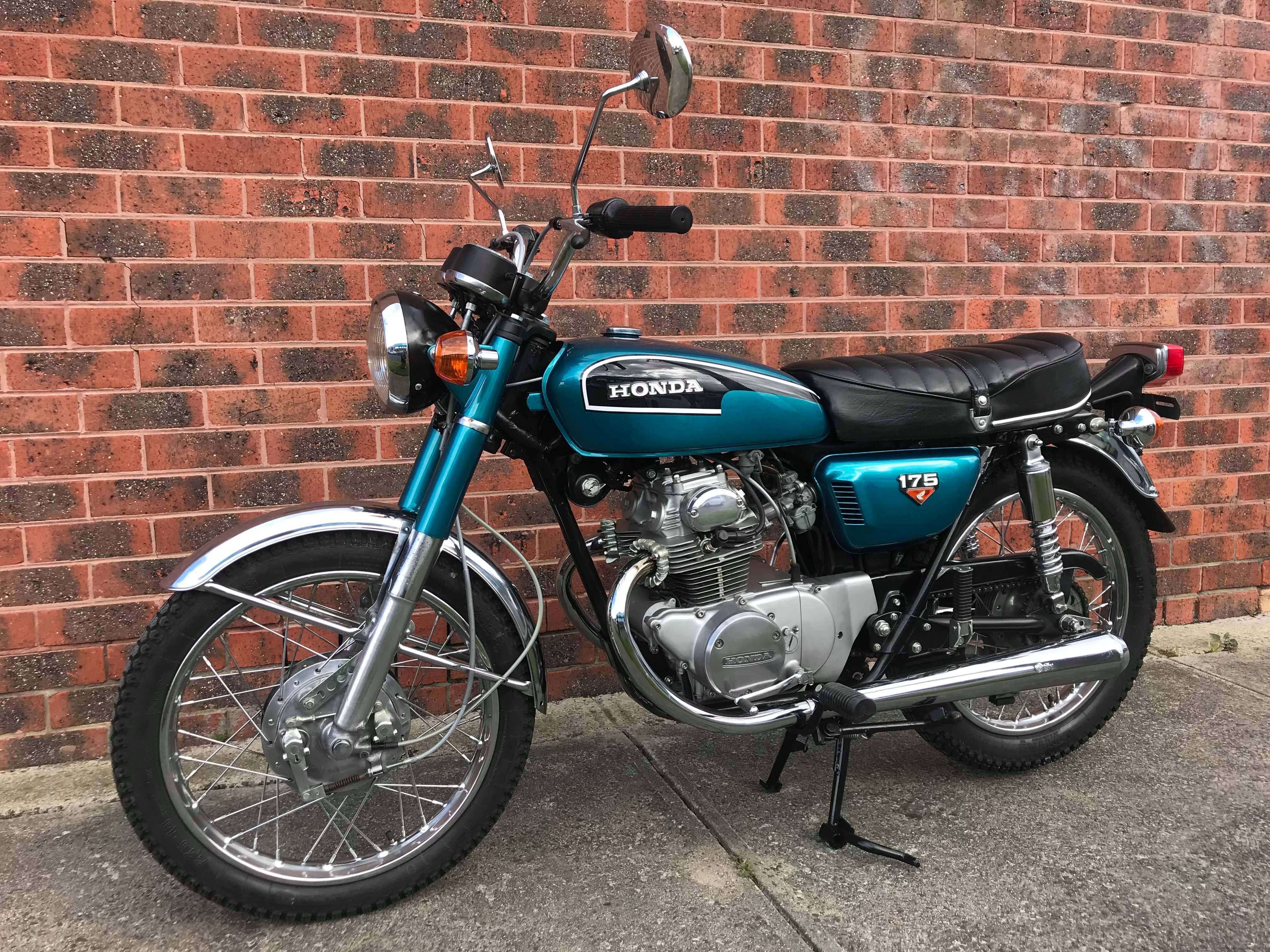 1973 Honda Cb175 175 Road - Jbw5041814