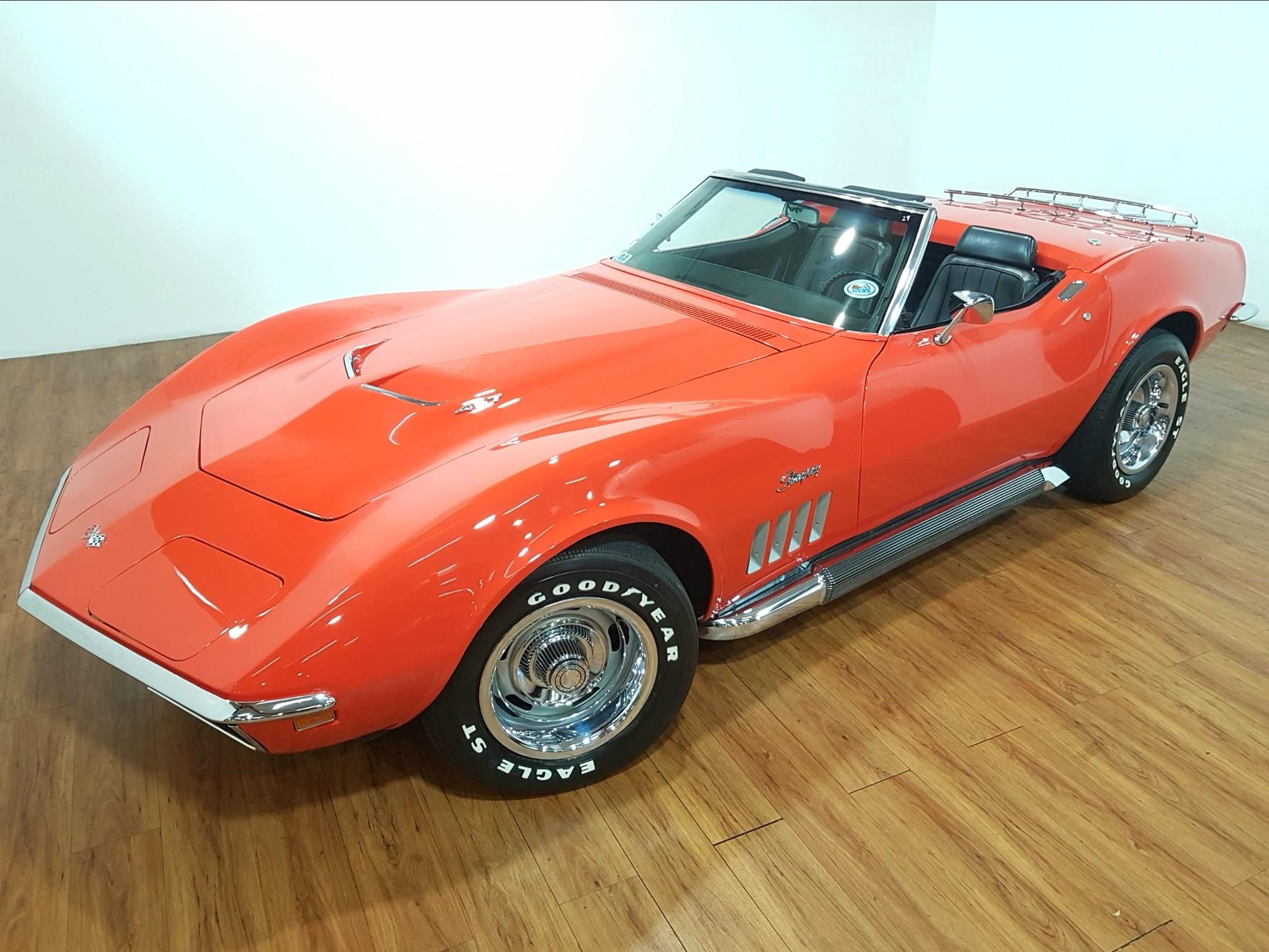 1969 Chevrolet Corvette 427 435hp L71 Convertible
