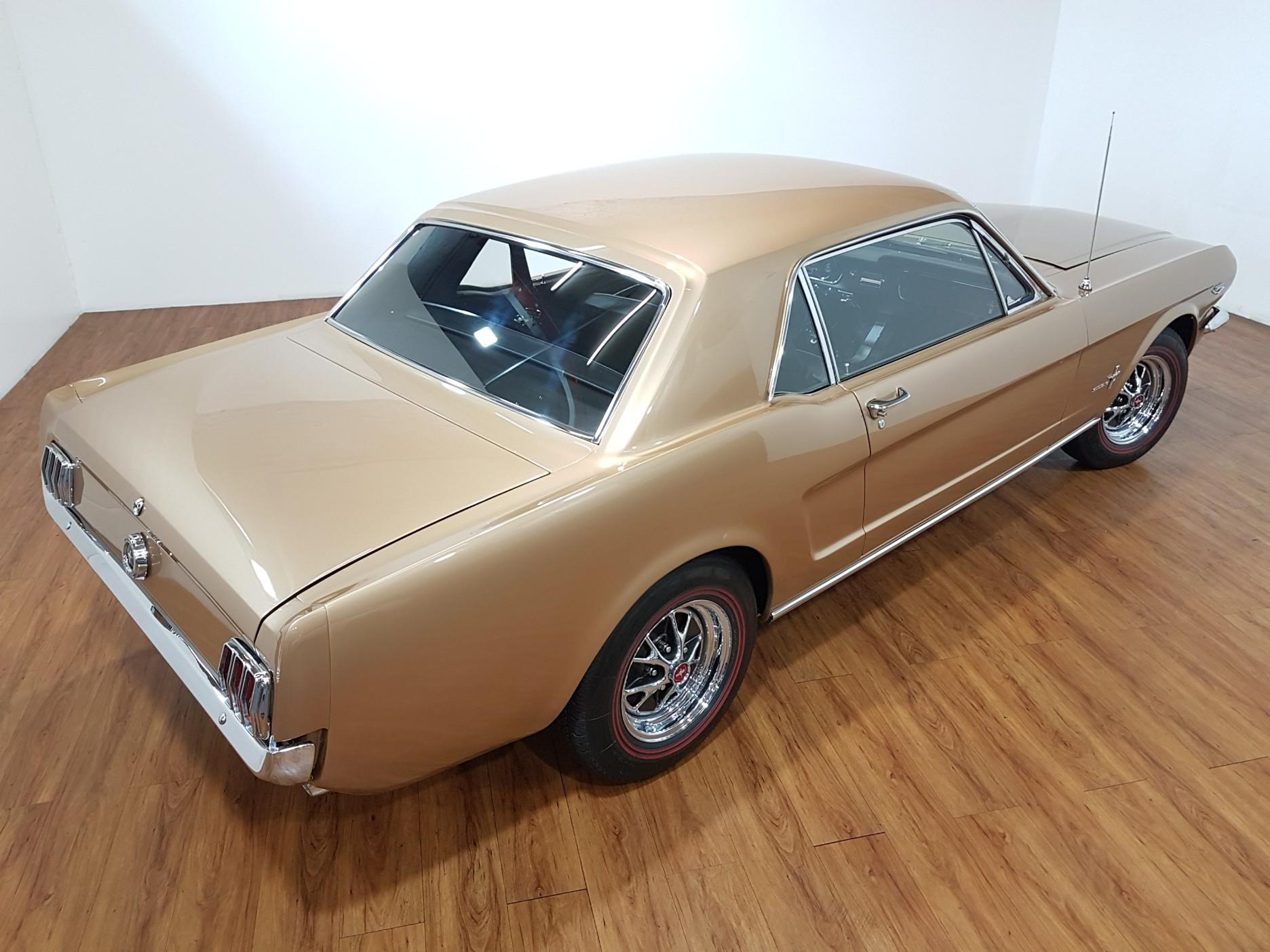1965 Ford Mustang K-code 289 Hipo 4 Speed Manual Coupe