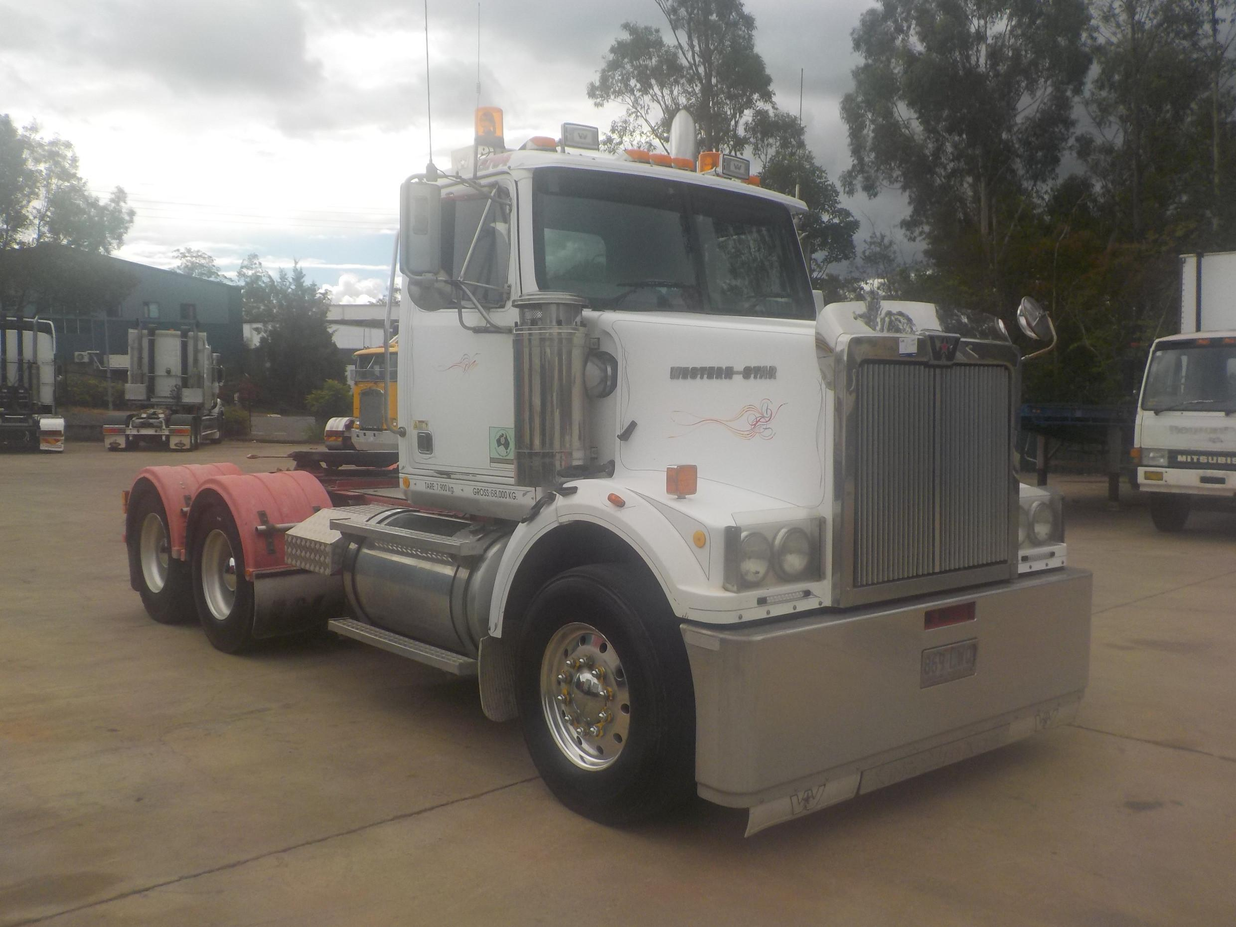 2005 Western Star 4800fx A450 Truck Manual Primemover - JTFD5053755 on