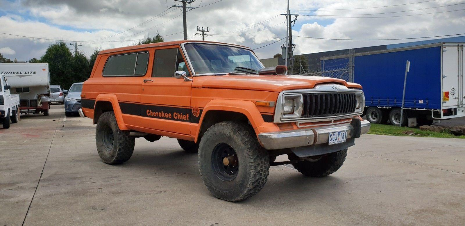 Jeep Cherokee Chief >> 1979 Jeep Cherokee Grand Chief 2 Door Coupe Jcw5019364 Just Cars