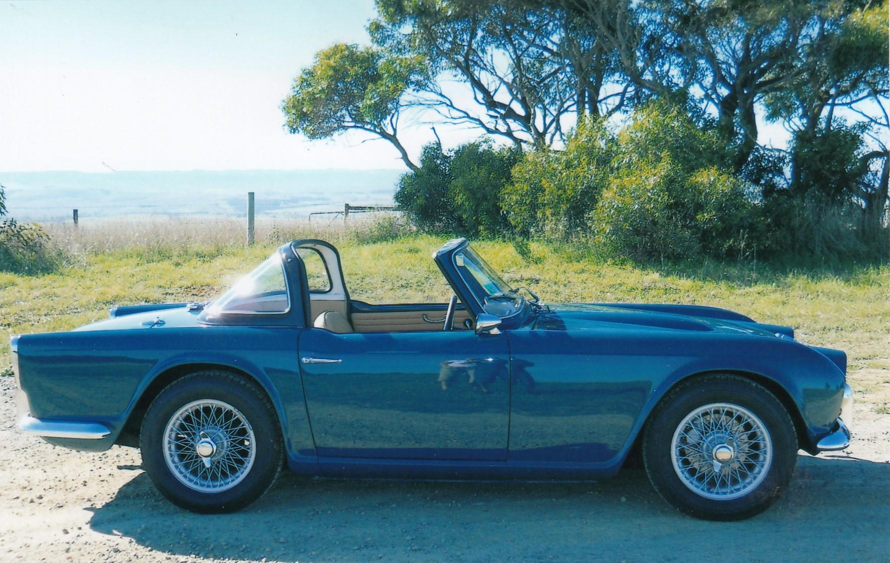 1963 Triumph Tr4 2d Sports Jcw5040069 Just Cars