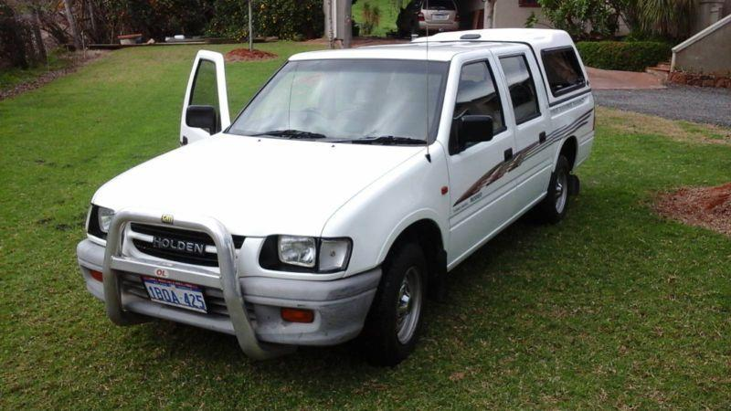 2001 Holden Rodeo Lx Tfg6 - www just4x4s com au