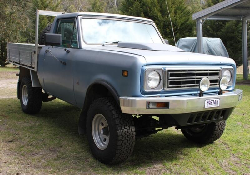 1978 International Scout Ii (4x4) Traveltop - JCW4039719 - JUST 4X4S