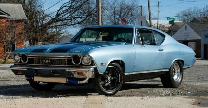 1968 Chevrolet Chevelle Ss - JCW4110396 - JUST CARS