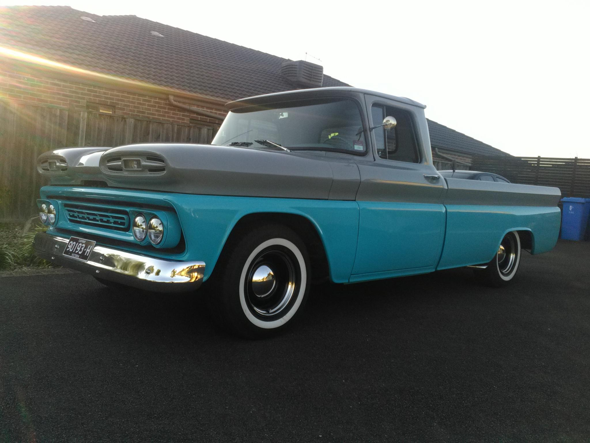 1961 Chevrolet C10 Utility Pick Up Previous