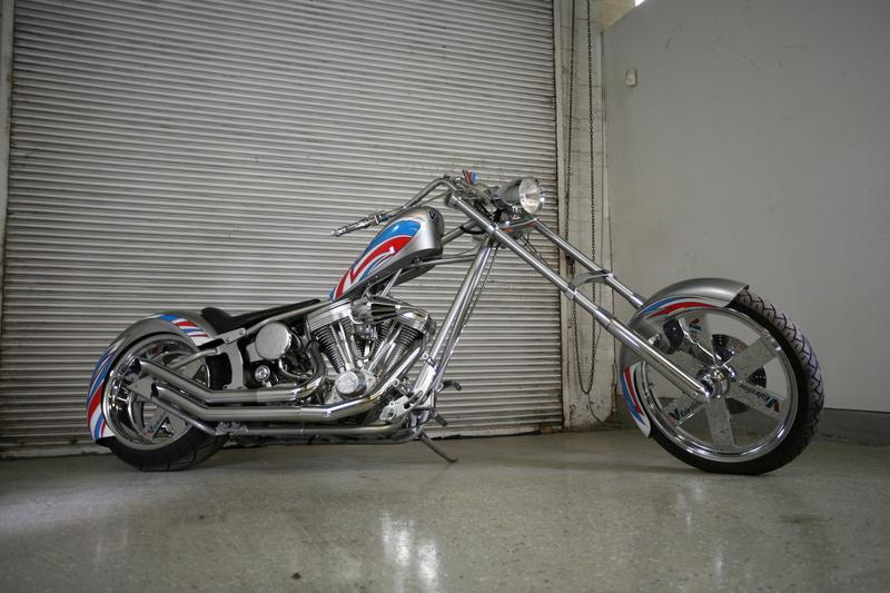 Orange County Choppers 'Valvoline' Chopper - JUST BIKES