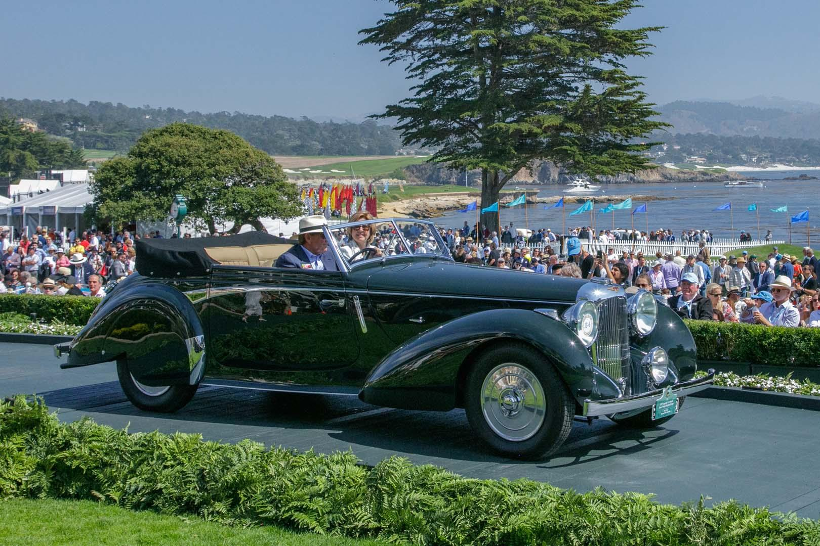 Alfa Romeo Wins At Pebble Beach Concours - JUST CARS